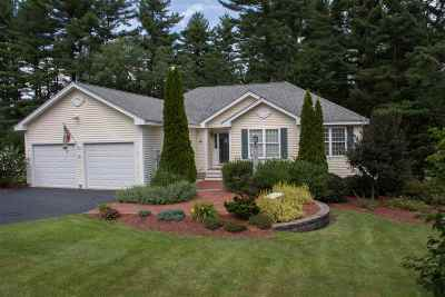 Merrimack Single Family Home Active Under Contract: 8 Profile Drive