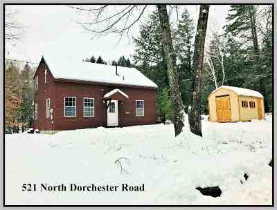 Wentworth Single Family Home For Sale: 521 North Dorchester Road