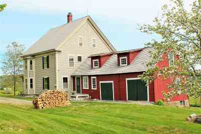 Caledonia County Single Family Home For Sale: 102 Old Cemetery Road