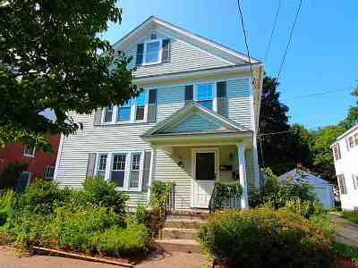 Chittenden County Multi Family Home Active Under Contract: 506 North Street