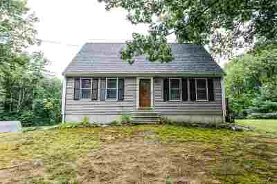 Raymond Single Family Home For Sale: 3 Bald Hill Road