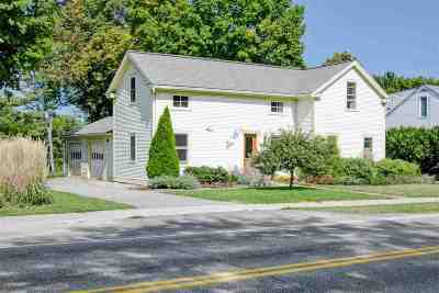 Shelburne Single Family Home For Sale: 1023 Falls Road