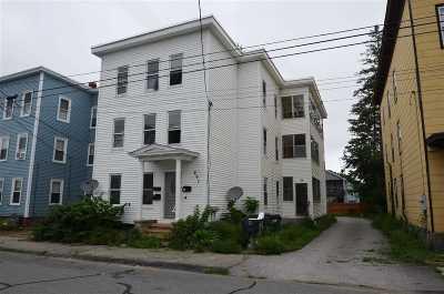 Manchester Multi Family Home For Sale: 297 Bartlett Street