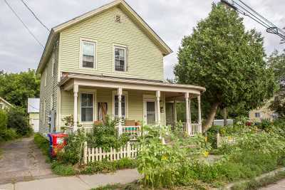 Chittenden County Multi Family Home For Sale: 61 Leclair Street