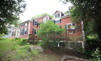 Shrewsbury Single Family Home For Sale: 5244 Vermont Route 103