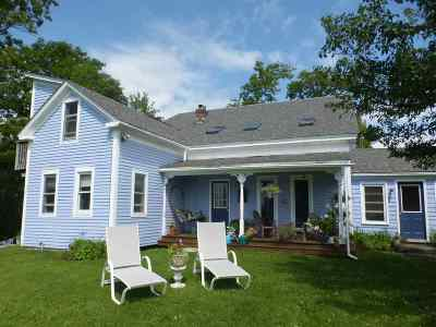 Middlebury Single Family Home For Sale: 290 Halladay Road
