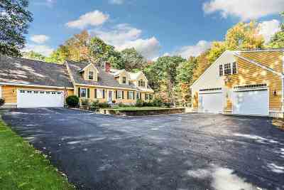 New Boston Single Family Home Active Under Contract: 185 McCurdy Road