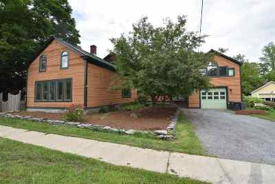 Vergennes Single Family Home For Sale: 10 Panton Road