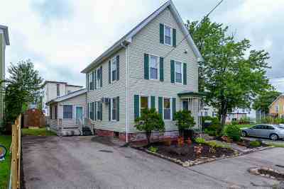 Manchester Single Family Home For Sale: 17 Columbus Street