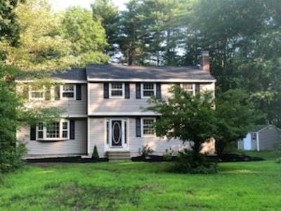 Amherst Single Family Home For Sale: 15 Cross Road
