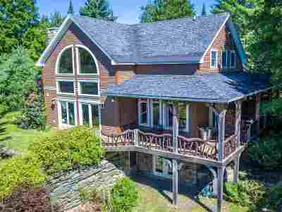 Woodbury VT Single Family Home For Sale: $649,000