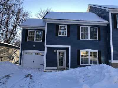 Chittenden County Condo/Townhouse For Sale: 38 River Street #A