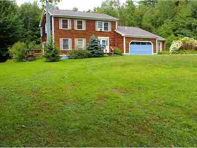 Addison County Single Family Home For Sale: 214 Many Waters Road