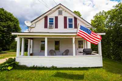 Cambridge Single Family Home For Sale: 749 Vt Route 108 South