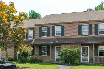 Chittenden County Condo/Townhouse For Sale: 88 Hayes Avenue