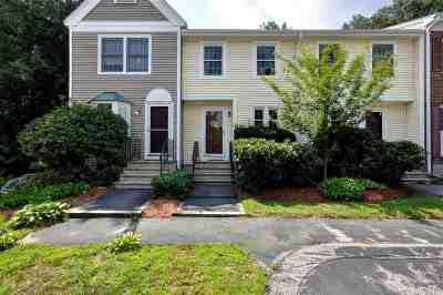 Manchester Condo/Townhouse For Sale: 132 Fox Hollow Way