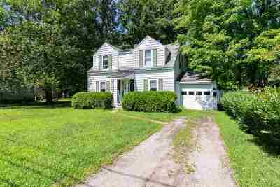 Chittenden County Single Family Home For Sale: 18 Woodbury Road