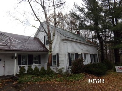 Whiting Single Family Home For Sale: 1871 Wilmington Cross Road