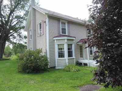Poultney Single Family Home For Sale: 152 Ruby Road