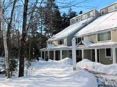 Waterville Valley Condo/Townhouse For Sale: 10 Avalanche Way #12