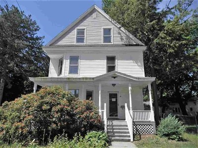 Hudson Single Family Home For Sale: 19 Library Street