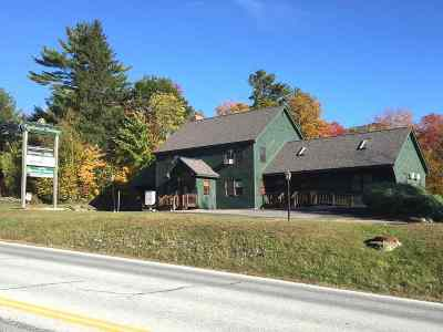 Rutland Town Commercial For Sale: 734 Us Rte 4 East Highway #6