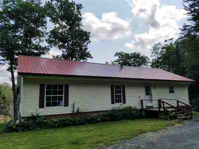 Whiting Single Family Home For Sale: 395 Pike Road
