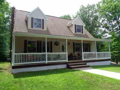 Bridgewater Single Family Home Active Under Contract: 86 Dick Brown Road