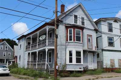 Somersworth Multi Family Home For Sale: 41-43 Franklin Street