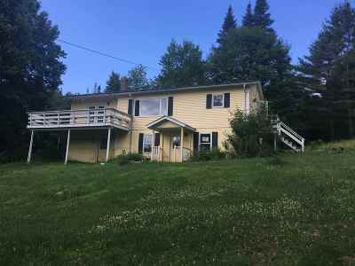East Montpelier Single Family Home Active Under Contract: 550 Coburn Road