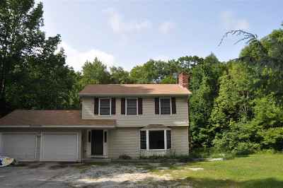 Hooksett Single Family Home Active Under Contract: 15 Terrace Drive