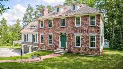 New Boston Single Family Home Active Under Contract: 103 Meetinghouse Hill Road