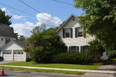 Montpelier Single Family Home Active Under Contract: 64 College Street
