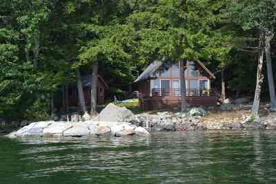 Gilford Single Family Home For Sale: 13 Welch Island