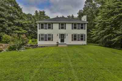 Merrimack Single Family Home Active Under Contract: 54 Naticook Road