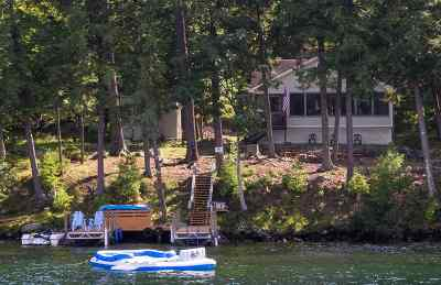 Meredith Single Family Home For Sale: 36 Bear Island