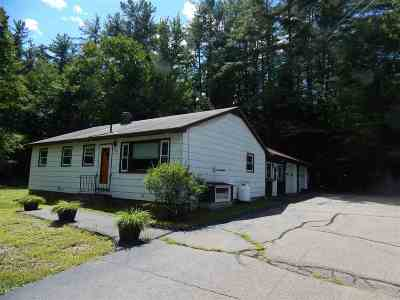 Tilton Single Family Home Active Under Contract: 476 Laconia Road