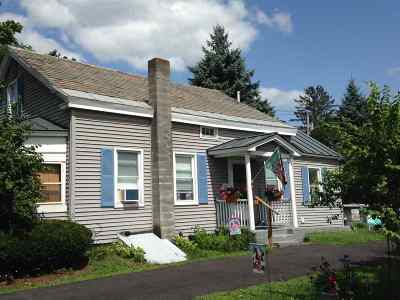 Poultney Single Family Home For Sale: 87 Grove Street Road