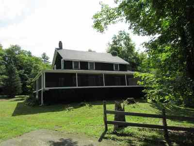 Chittenden Single Family Home For Sale: 162 Dam Road