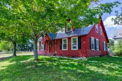 Epsom Single Family Home For Sale: 1808 Dover Road
