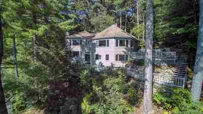 Wolfeboro Single Family Home For Sale: 456 Sewall Road