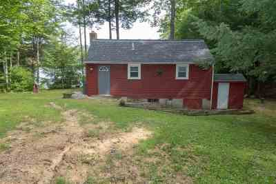 Belmont Single Family Home For Sale: 63 Sargent Lake Road