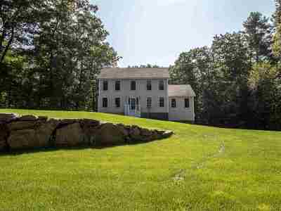 Somersworth Single Family Home Active Under Contract: 65 Lily Pond Road
