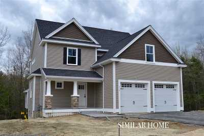 Dover Single Family Home For Sale: Lot 27 Emerald Lane #27