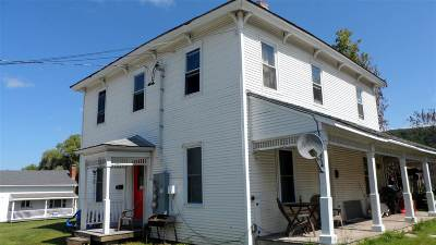 Middlebury VT Multi Family Home For Sale: $259,000