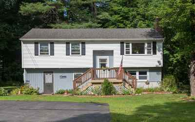 Goffstown Single Family Home Active Under Contract: 7 Checkerberry Lane