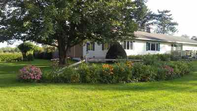 Swanton Single Family Home Active Under Contract: 34 Church Road