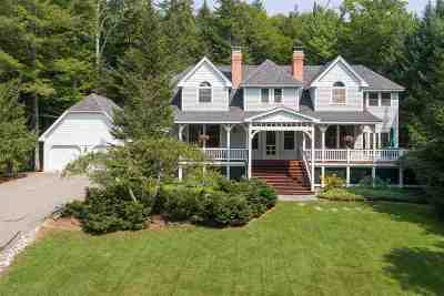 Waterville Valley Single Family Home For Sale: 12 Greeley Hill Road