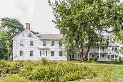 Belknap County Single Family Home For Sale: 481 Province Road