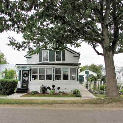 St. Albans City Single Family Home For Sale: 25 North Elm Street